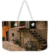 In The Old Town Weekender Tote Bag