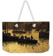 In The Port Weekender Tote Bag by Charles Cottet