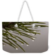 In The Rain Weekender Tote Bag
