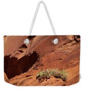 In The Rock Life Will Come Weekender Tote Bag