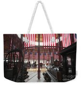In The Roundhouse At The B And O Railroad Museum In Baltimore Weekender Tote Bag