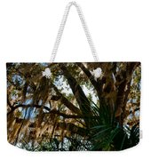 In The Shade Of A Florida Oak Weekender Tote Bag