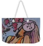 In The Shadow Of The Flowers Weekender Tote Bag