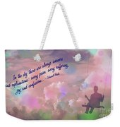 In The Sky 2016 Weekender Tote Bag