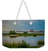 In The Still Of The Morning Weekender Tote Bag