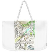 In The Summer Cafe Weekender Tote Bag