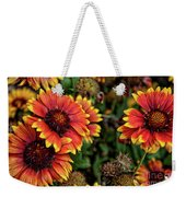 In The Summer Garden Weekender Tote Bag