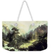 In The Teton Range Weekender Tote Bag