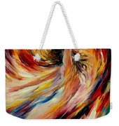 In The Vortex Of Passion Weekender Tote Bag