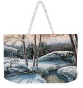 In The Winter In Carpathians.  Weekender Tote Bag