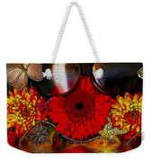 In The Wood Of Fantasy By The Water Weekender Tote Bag