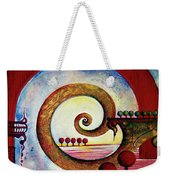 In The World Of Balance Weekender Tote Bag
