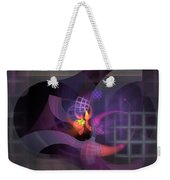 In The Year Of The Tiger - Fractal Art Weekender Tote Bag