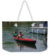 In Tow Weekender Tote Bag