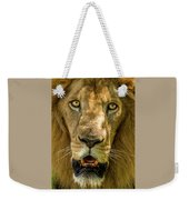 In Your Face Weekender Tote Bag