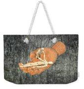 In Your Hands Weekender Tote Bag