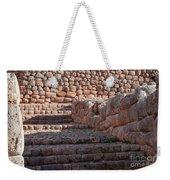 Inca Steps At Chinchero  Weekender Tote Bag