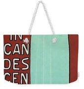 Incandescence Par Le Gaz  1892 Weekender Tote Bag
