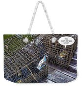 Incarceration Weekender Tote Bag