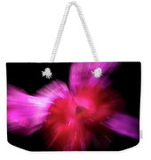 Incoming Attack Orchid Weekender Tote Bag