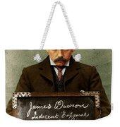 Indecent Exposure Weekender Tote Bag
