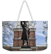 Independence Hall And Commodore Barry Weekender Tote Bag