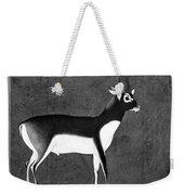 India: Black Buck Weekender Tote Bag
