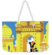 India, Castle, People, Street Weekender Tote Bag
