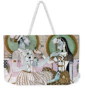 India: Couple Weekender Tote Bag