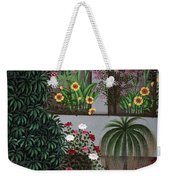 India: Garden Weekender Tote Bag