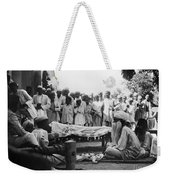 India: Malaria Play, C1929 Weekender Tote Bag