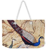 India: Peafowl, C1610 Weekender Tote Bag