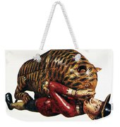 India: Tiger Attack Weekender Tote Bag