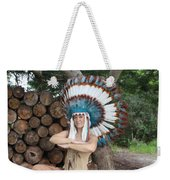 Indian 018 Weekender Tote Bag