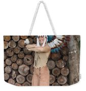 Indian 020 Weekender Tote Bag