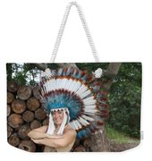 Indian 021 Weekender Tote Bag