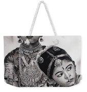 Indian Adornment Weekender Tote Bag