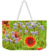 Indian Blanketflowers Gaillardia Puchella Weekender Tote Bag