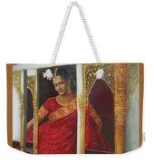 Indian Bride Weekender Tote Bag