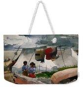 Indian Camp - Roberval P Q Weekender Tote Bag