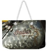 Indian Chopper Gas Tank Weekender Tote Bag
