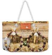 Indian Corn Wreaths Weekender Tote Bag