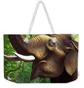 Indian Elephant 1 Weekender Tote Bag