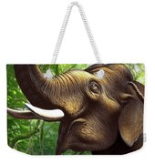 Indian Elephant 1 Weekender Tote Bag