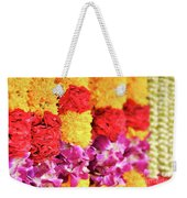 Indian Flower Garland Weekender Tote Bag