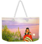 Indian Full Moon Southwest Sunset Weekender Tote Bag