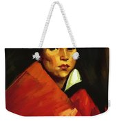 Indian Girl 1916 Weekender Tote Bag