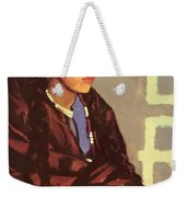 Indian Girl Of San Ildefonso 1917 Weekender Tote Bag