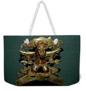 Indian Gold Weekender Tote Bag