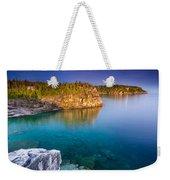 Indian Head Cove Sunrise  Weekender Tote Bag